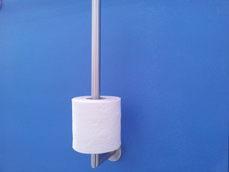Spare Toilet Roll Holder Stainless Steel Great Grab