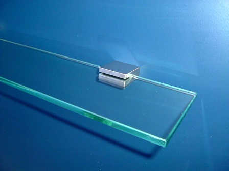 bathroom glass shelf stainless steel 400mm great grab